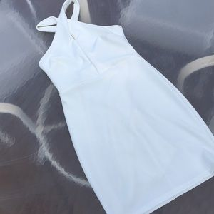 LuLus cream dress size S